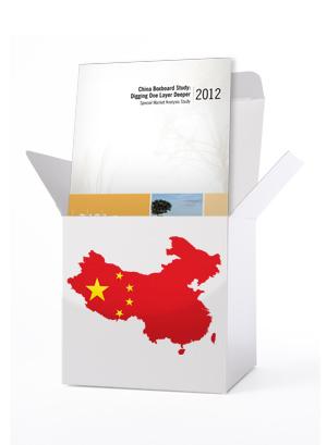 2012 China Boxboard Study: Digging One Layer Deeper